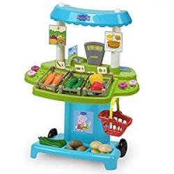 Chollo - Peppa Pig Supermercado con 30 accesorios - Smoby 174400