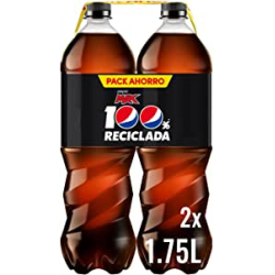 Chollo - Pepsi MAX Refresco de cola Zero azúcar Pack 2x 1.75L