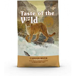 Chollo - Pienso para gatos 2Kg Taste of the Wild Canyon River con trucha y salmón ahumado