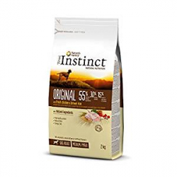 Chollo - Pienso para Perros Adultos True Instinct Original Medium/Maxi Pollo (2kg)