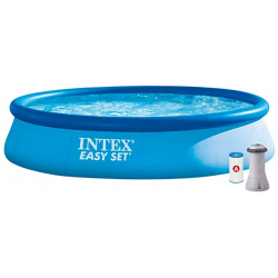 Chollo - Piscina con Depuradora Intex 28142NP (396 x 84 cm)