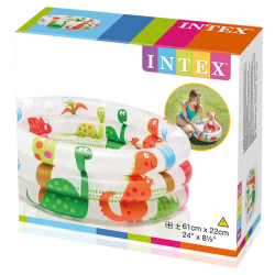 Chollo - Piscina infantil Intex Dino 3 Tubos (61x22 cm)