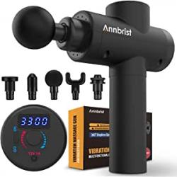 Chollo - Pistola de masaje Annbrist - AB-MGUS-B1
