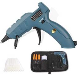 Chollo - Pistola de silicona Laluztop 50W con 30 Barritas y Estuche