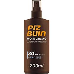 Chollo - Piz Buin Moisturising SPF30 200ml Spray solar hidratante