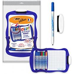 Chollo - Pizarra BIC Velleda Cliiip con 8 marcadores y borrador