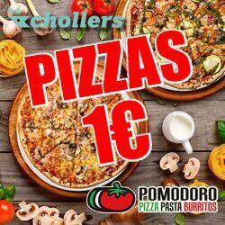 Chollo - Pizzas por 1€ en Restaurantes Pomodoro