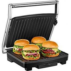 Chollo - Placas Grill Antiadherentes Deik 1500W con Capacidad para 4 Sándwiches Tostadoras
