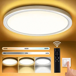 Chollo - Plafon LED de techo regulable OUILA 30cm 18W
