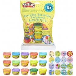 Chollo - Pack 15 Mini Botes de Plastilina Play-Doh (Hasbro 18367EU5)