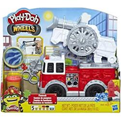 Chollo - Play-Doh Wheels Camión de Bomberos (Hasbro E6103EU4)