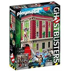 Chollo - Playmobil Cazafantasmas Cuartel Parque de Bomberos - 9219