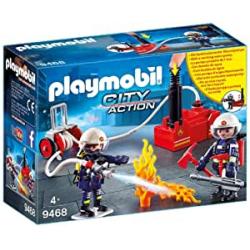 Chollo - Playmobil City Action: Bomberos con bomba de agua - 9468