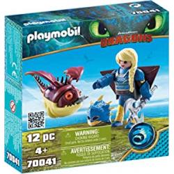 Chollo - Playmobil Dragons: Astrid con Globoglob - 70041