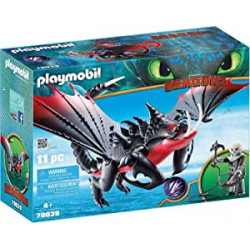 Chollo - Playmobil DreamWorks Dragons Aguijón Venenoso y Crimmel (70039)