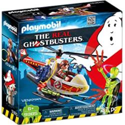 Chollo - Playmobil Ghostbusters Venkman con Helicóptero (9385)