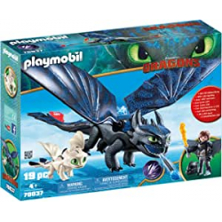 Chollo - Playmobil Hipo y Desdentado con Bebé Dragón