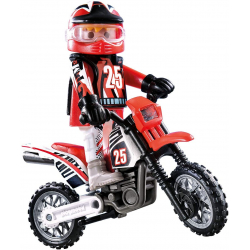 Chollo - Playmobil Motocross 9357