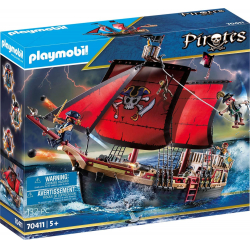 Chollo - Playmobil Pirates Barco pirata calavera (70411)