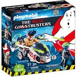 Chollo - Playmobil Ghostbusters Stanz con Moto Voladora (9388)