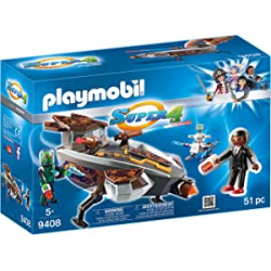 Chollo - Playmobil Super 4 Gene y Sykroniano con Nave - 9408