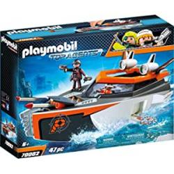 Chollo - Playmobil Top Agents: SPY TEAM Turbonave - 70002