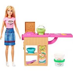 Chollo - Playset Barbie Restaurante japonés Noodle Bar - Mattel GHK43