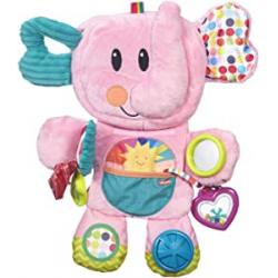 Chollo - Playskool Fold 'n Go Elefante rosa Peluche | Hasbro B4939