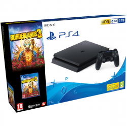 Chollo - Sony PlayStation PS4 Slim 1TB (Chasis F) + Borderlands 3