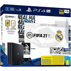 Chollo - PlayStation 4 Pro 1TB Edición Especial Real Madrid + FIFA 21