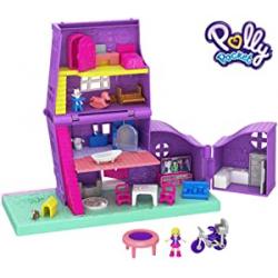 Chollo - Casa de muñecas de Pollyville de Polly Pocket - Mattel GFP42