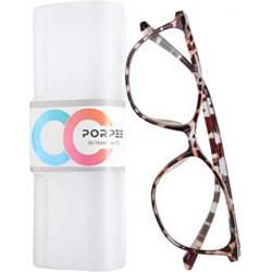 Chollo - PORPEE Gafas de protección anti luz azul Leopard Printed