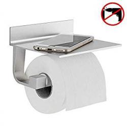 Portarrollos WC con Repisa Hoomtaook