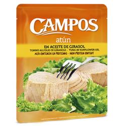 Chollo - Pouch de atún en aceite de girasol Campos 500g