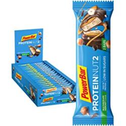 Chollo - PowerBar Protein Nut2 Milk Chocolate Hazelnut Barritas de proteína Pack 18x 45g | 21614500