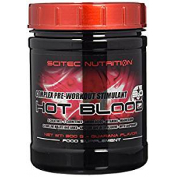 Preentreno Hot Blood 3.0 Scitec Nutrition (300g)