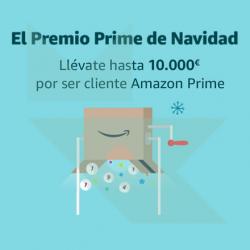 Sorteo Prime de Navidad de Amazon con Premios de hasta 10.000€