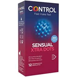 Chollo - Preservativos Control Sensual Xtra Dots 12 unidades