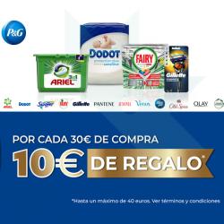 Chollo - Promoción 10€ de regalo por cada 30€ de compra