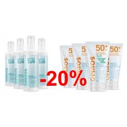 Chollo - Promoción -20% Crema solar y After sun Solimo