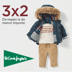 Chollo - Hasta -50% y 3x2 en Marcas de Moda Infantil