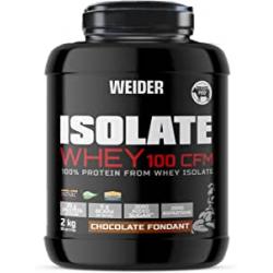 Chollo - Proteína de suero Weider Isolate Whey 100 CFM Chocolate 2kg - WJW.274101