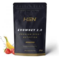 Chollo - Proteína HSN Evowhey Protein 2.0 Fresa Banana 2Kg
