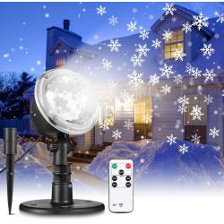 Chollo - Proyector de Nevadas LED Navidad