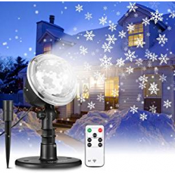 Chollo - Proyector LED de Copos de Nieve Nacatin IP65