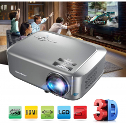 Chollo - Proyector LED Excelvan BL68 HD