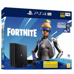 Chollo - Sony PlayStation 4 Pro 1TB + Fornite Voucher 2019 + 20€ de regalo