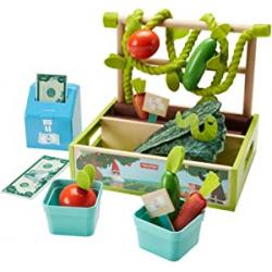 Puesto de verduras del mercado de Fisher-Price - Mattel GGT62