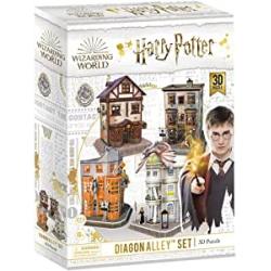Chollo - Puzzle 3D CubicFun Diagon Alley Set 4 en 1 Harry Potter