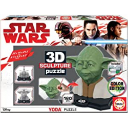 Chollo - Puzzle 3D Sculpture Yoda (17801)